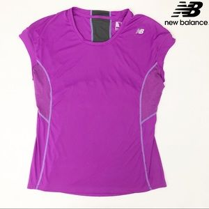 New Balance athletic shirt with mesh panels - L